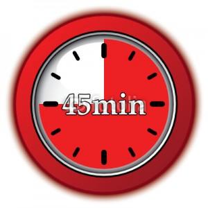 45 минути обучения