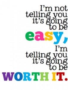 Няма да е лесно, но си заслужава