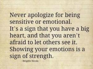 Не се страхувайте от емоциите си