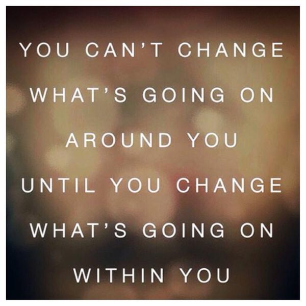 Промяната на мислите