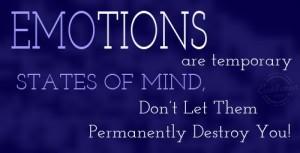 Емоциите са временно състояние на мозъка