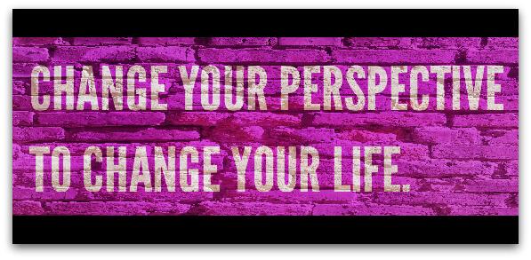 Променете ъгъла, от който гледате на нещата