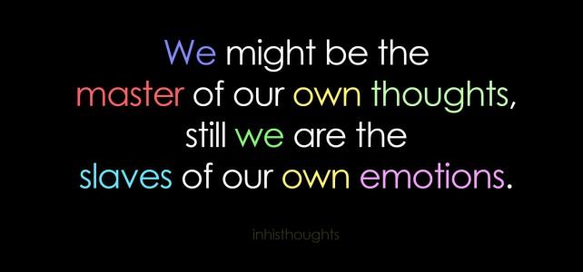 За емоциите и хората