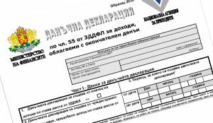 годишна данъчна декларация