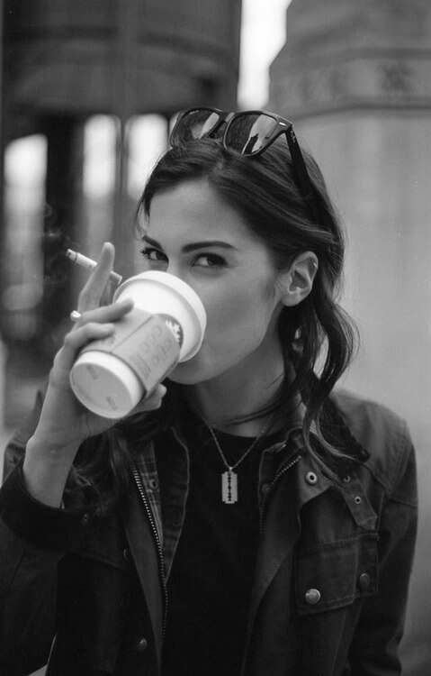 кафе и цигара