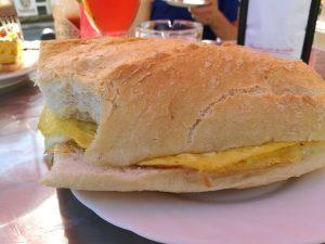 Омлет в хляб на El Camino